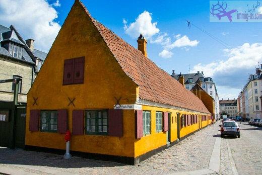 كيف تجد منزل في الدنمارك