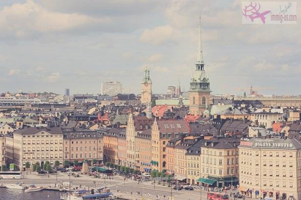 اللجوء إلى السويد للسوريين 2015