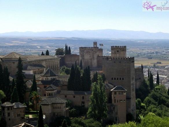 قصر الحمراء اسبانيا