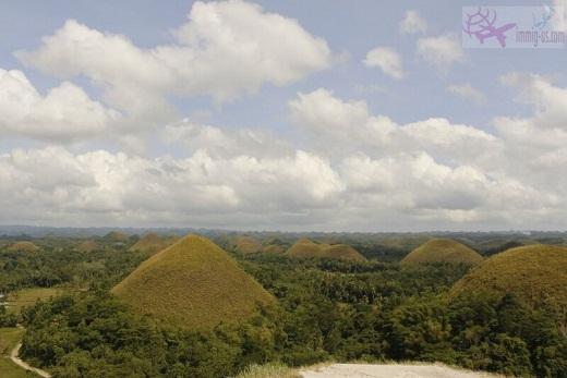 جبال الشوكولاته الفلبين