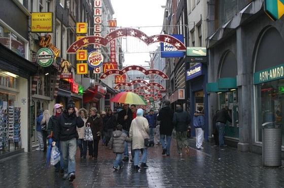 التسوق في امستردام هولندا
