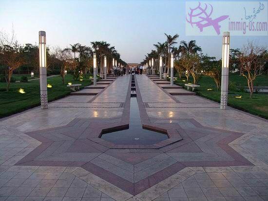 حديقة الأزهر في مصر