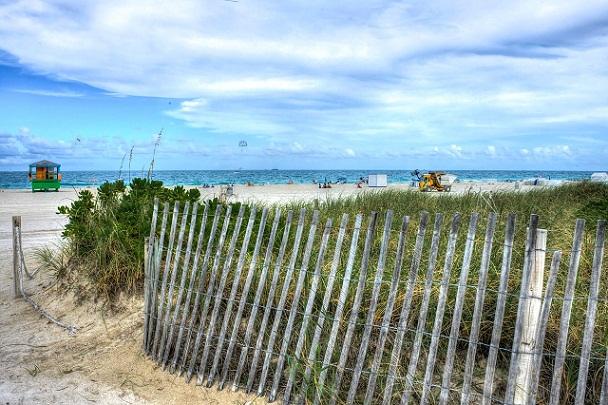 الشاطئ الجنوبي فلوريدا