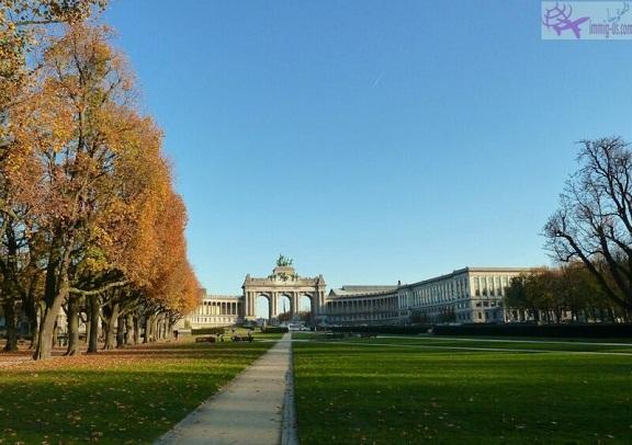 منتزه بروكسل - بلجيكا