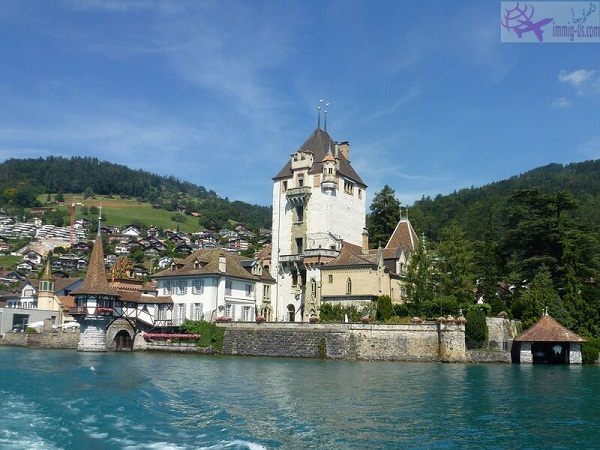 قلعة اوبرهوفن انترلاكن سويسرا