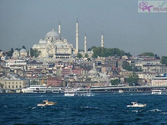 مسجد السليمانية تركيا اسطنبول