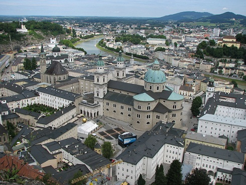 المدينة القديمة سالزبورغ