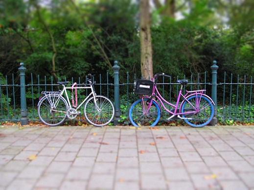 التنقل عبر الدراجات في هولندا