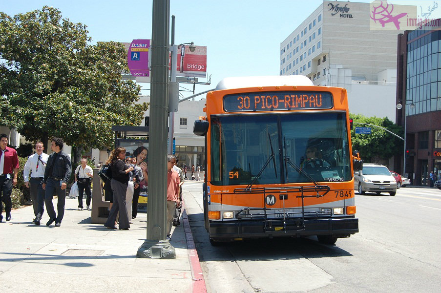 حافلات لوس انجلوس