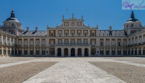 القصر الملكي مدريد - اسبانيا