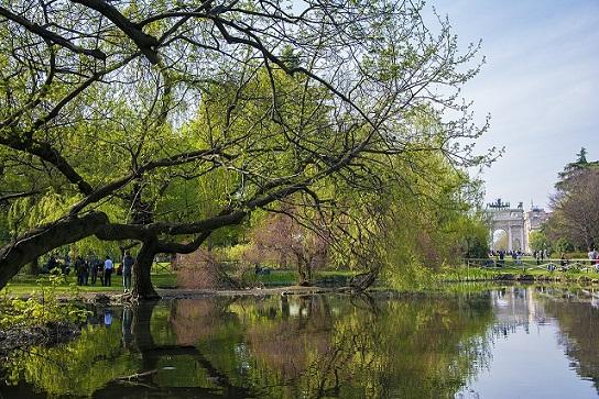 الحدائق العمومية ميلانو
