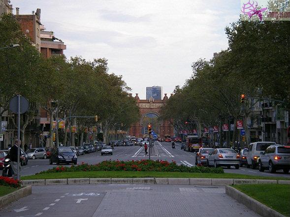 شارع لاس رامبلاس برشلونة