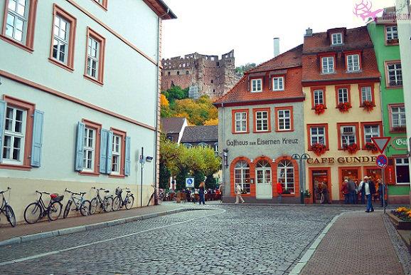 المدينة القديمة هايدلبرغ