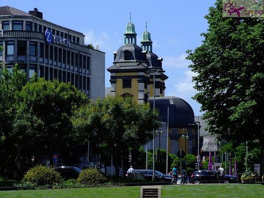 البلدة القديمة دوسلدورف
