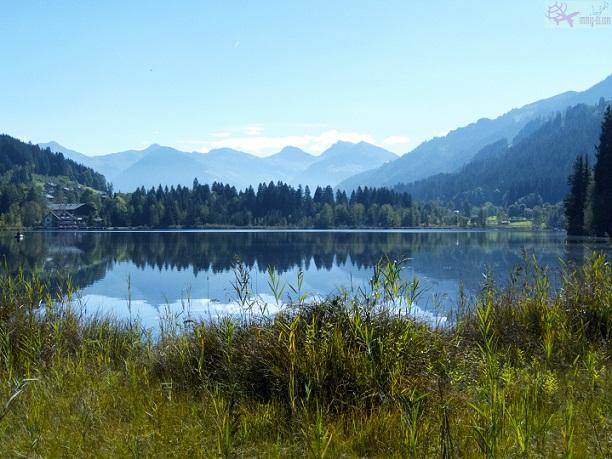 بحيرة شوارز سي مدللة جبال الألب النمساوية الجميلة