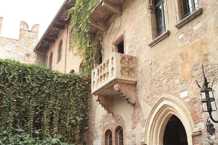 منزل جولييت فيرونا الايطالية