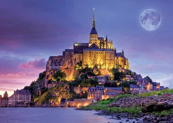 صورة تعرّف على جبل القديس ميشيل في فرنسا