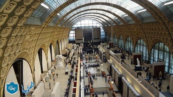 متحف أورسيه من الداخل
