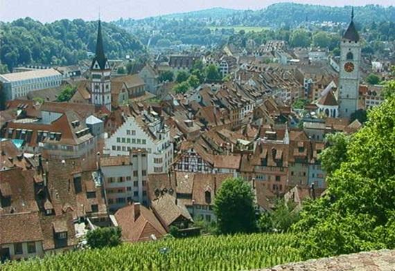 صورة أهم المعالم السياحية فى مدينة شافهاوزن السويسرية