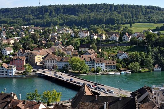 شافهاوزن السويسرية