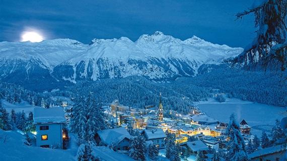سانت موريتز سويسرا