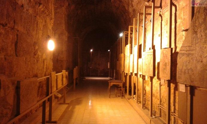 سرداب متحف المدرج الروماني