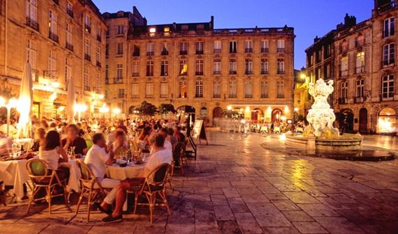 المطاعم في مدينة بوردو