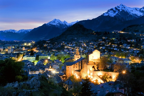 صورة أبرز المعالم السياحية فى مدينة سيون السويسرية
