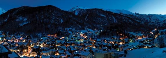 مدينة زيرمات بسويسرا