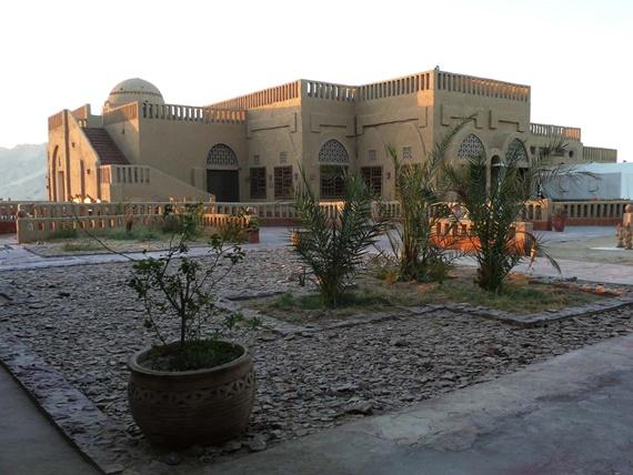 قرية القصر الأسلامية فى محافظة الوادى الجديد