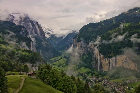 صورة أجمل المعالم السياحية فى سويسرا جبل مورين