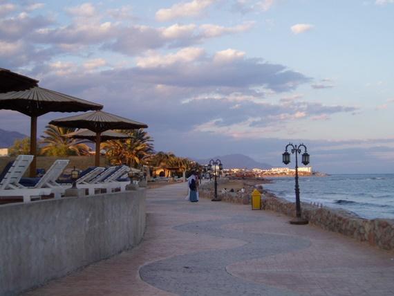 شواطئ مدينة دهب الرائعة