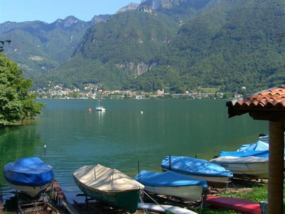 نهر السان بسويسرا
