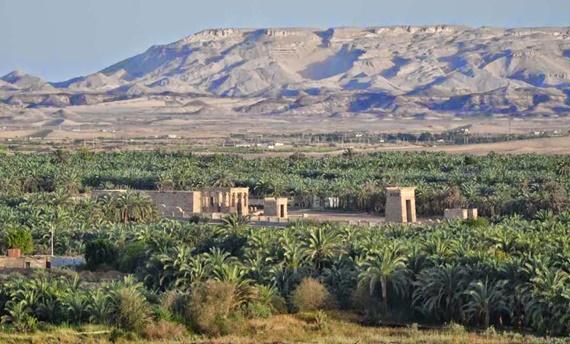 جمال الطبيعة فى محافظة الوادى الجديد