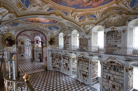 قاعات مكتبة آبى بسانت آجل