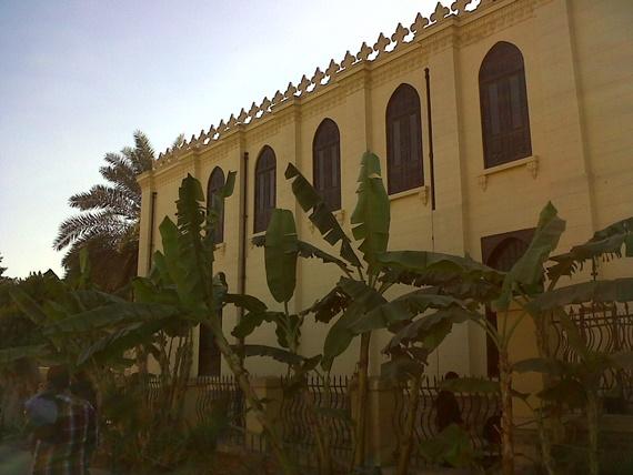 المعبد اليهودى ابن عزرا فى مجمع الأديان السماوية فى مدينة القاهرة
