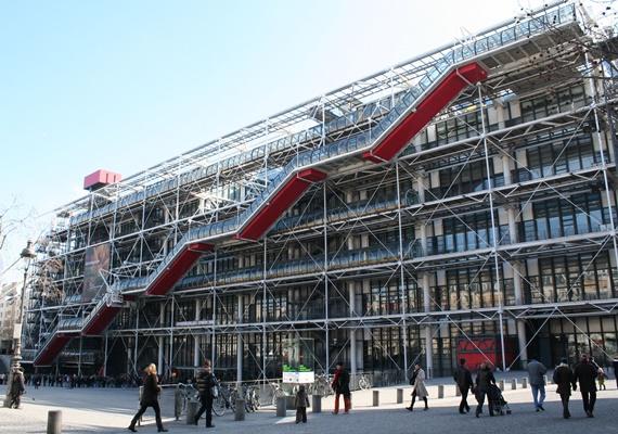 مركز جورج بومبيدو في العاصمة الفرنسية