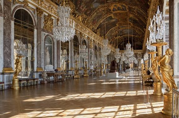 عظمة قصر فرساي بباريس