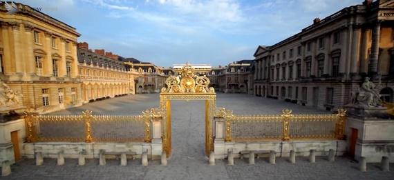 روعة المعمار فى قصر فرساي