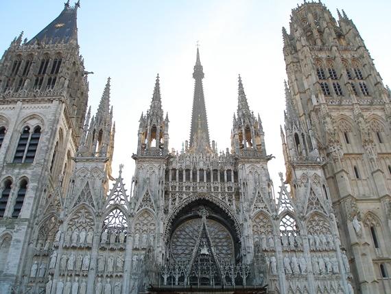 كاتدرائية فى مدينة روان الفرنسية