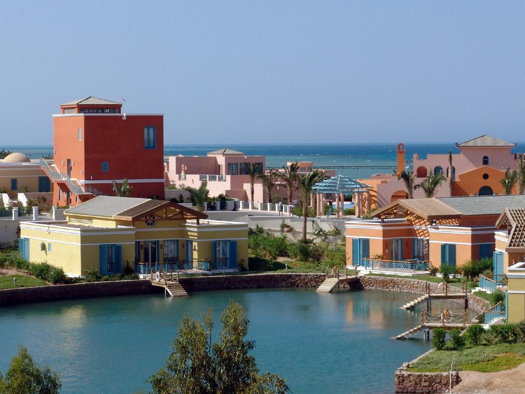مدينة الجونة أجمل مدن البحر الأحمر