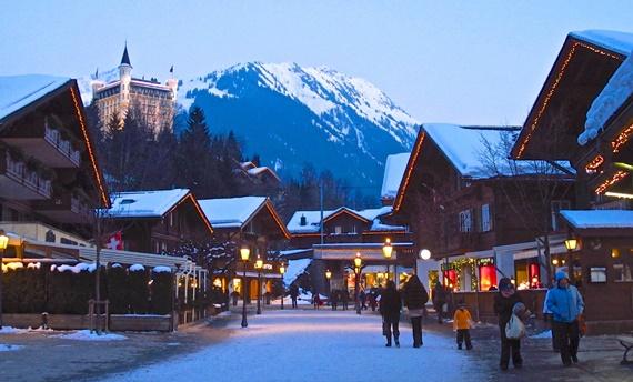 أهم المعالم السويسرية قرية غشتاد