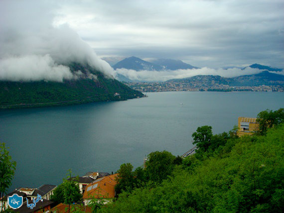 نهر الراين فى سويسرا