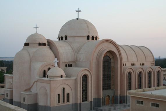 كنيسة سانت بيشوى بوادى النطرون