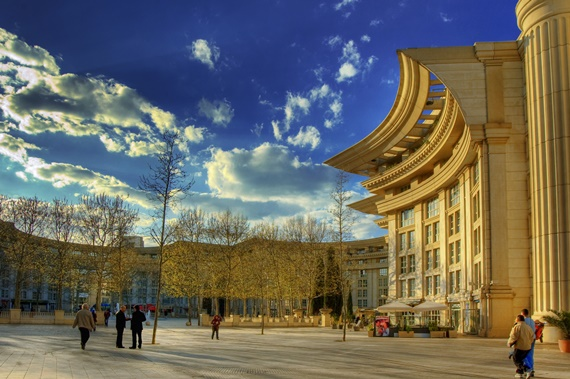 صورة المعالم السياحية فى مدينة مونبلييه الفرنسية