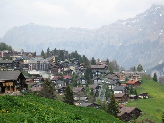 أجمل العالم السياحية فى سويسرا جبل مورين