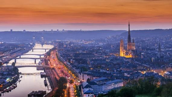 صورة أهم المعالم السياحية فى مدينة روان الفرنسية