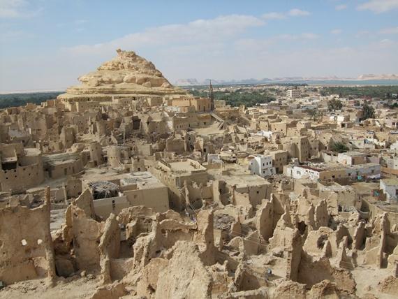 المعالم الأثرية فى واحة سيوة