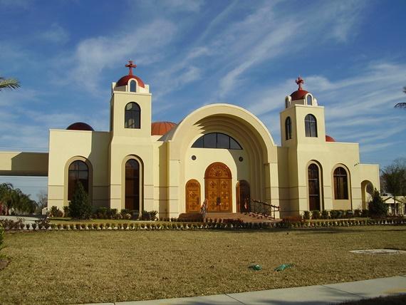 الكنيسة المعلقة فىمجمع الأديان السماوية
