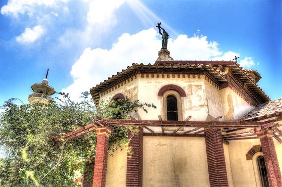 كنيسة فيرجين مارى فى مدينة الأسماعيلية